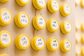 サンプル室でのデータ管理